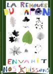 Affiche renouée du Japon réalisée par les enfants