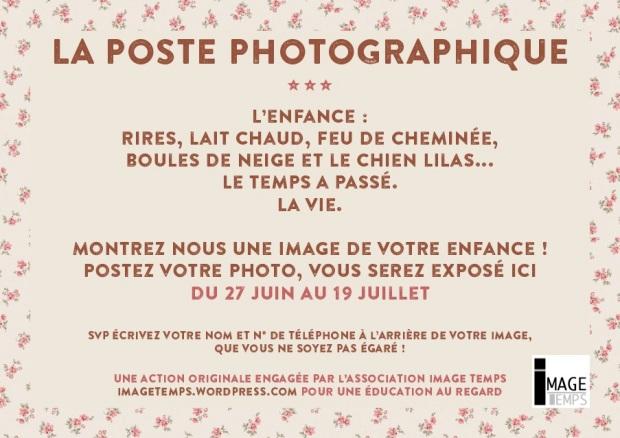 poste photographique