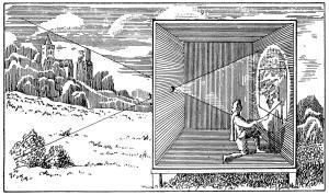 dessin camera obscura
